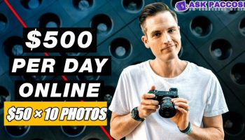 PhotoJobz – Get Paid To Upload Photos Online (Up To $500/Day NO Investment)