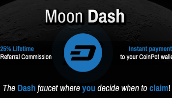 Moon Dash Faucet Review – How To Earn Free Dashcoin Online (FREE 8500 Dash/Day)