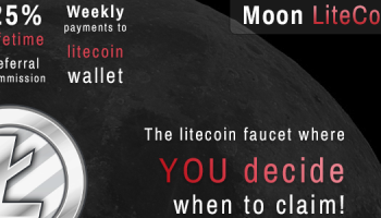 Moon Litecoin Faucet Review – How To Earn Free LTC Online (FREE 0.08 LTC/Day)