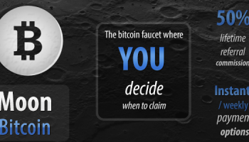 Moon Bitcoin Faucet Review – How To Earn Free Bitcoin (FREE 0.001 BTC/Day)