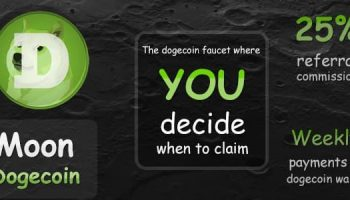 Moon Dogecoin Faucet Review – How To Earn Free Doge Online (FREE 5000 Doge/Day)