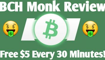 BCH Monk Review – How To Earn Free Bitcoin Cash Online (Claim Free $5 Every 30 Minutes)