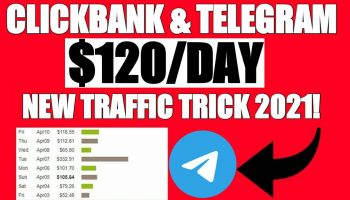 How To Get ClickBank Sales Everyday Using Telegram | New Traffic Trick 2021 | Live Proof