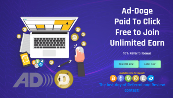 Ad-Doge.com Review – Earn Dogecoins By Surfing Ada (Scam Or Legit?)