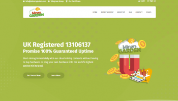MinersGarden.com Review – Earn Up To 1.7% Daily (Scam Or Legit?)
