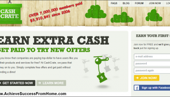 CashCrate Review – Get Paid To Complete Online Offers ( Scam Or Legit?)