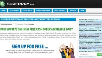 SuperPay.Me review – Get Paid To Complete Online Offers (Scam Or Legit?)